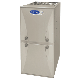 Carrier Performance 96 gas furnace.