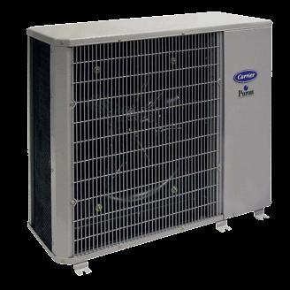 Carrier Performance 14 heat pump.