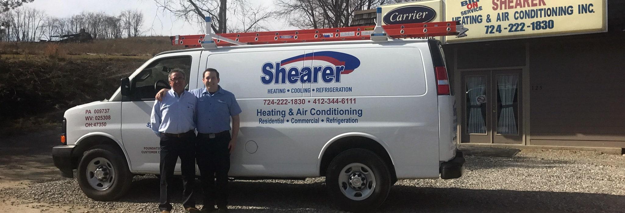 Shearer Heating, A/C & Refrigeration Inc